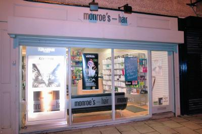 Monroes Hair Salon Exterior